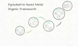 Cyclodextrin Based Metal Organic Frameworks
