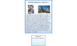 "Walter Elias ""Walt"" Disney"