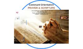 Copy of Covenant Orientation - Talk 2