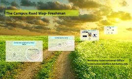 Campus Road Map-Freshman