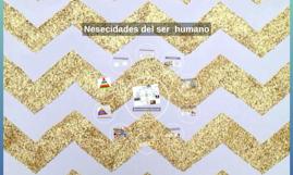 Nesecidades del ser  humano