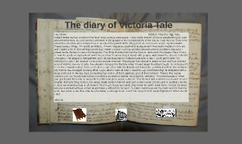 The diary of Victoria Tale