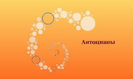 Антоцианы
