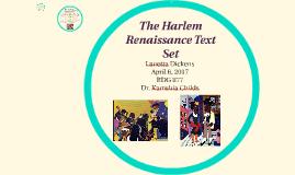 The Harlem Renaissance Text Set