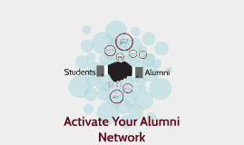 Activate Your Alumni Network