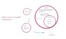 Determinants of Health Presentation
