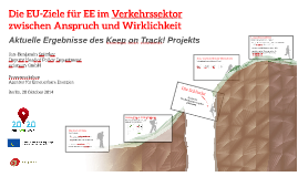 EU- 2020-Ziele im Verkehrsektor_Ergebnisse des Keep on Track! Projekts_eclareon
