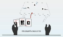 FILOSOFIA SIGLO XX