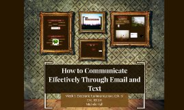 Copy of Copy of Email Etiquette