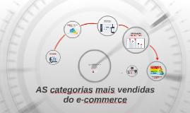 Os ítens mais vendidos do e-commerce