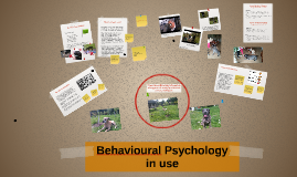 Behavioural Psychology in use