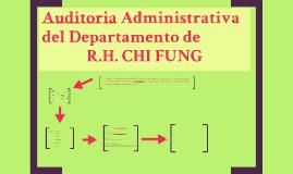 Auditoria Departamento