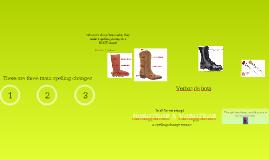 Verbos de zapato