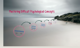 Mastering Difficult Psychological Concepts