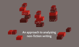 An approach to analyzing non-fiction writing