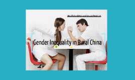 Gender Inequality in Rural China