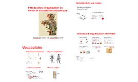 Introduction: organisation du vivant et vocabulaire anatomiq