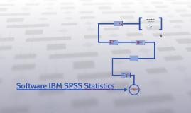 Software IBM SPSS Statistics