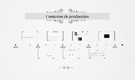 Contextos de producción