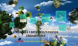 Energija i bioproizvidnja ekosustava