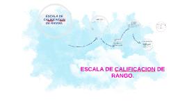 ESCALA DE CALIFICACION DE RANGO