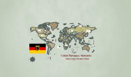 Unión Europea: Alemania