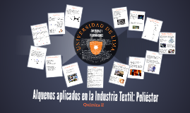 Alquenos aplicados en la Industria Textil: Poliéster