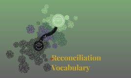 Reconciliation Vocabulary