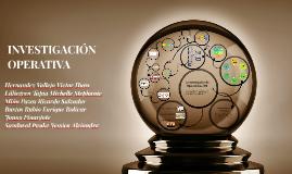 Copy of INVESTIGACIÓN OPERATIVA