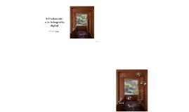 Fotografía Digital - Intro