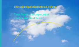 Copy of Organizational Pattern in Non Fiction