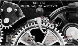 SITEMA HOMEM-MÁQUINA-AMBIENTE