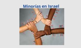 Sociedad Israeli - Minorias en Israel