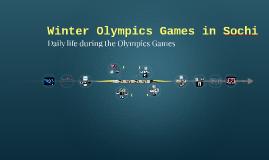 Olimpics Games in Sochi