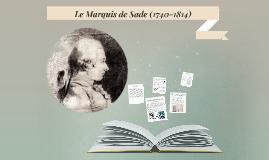 Le Marquis de Sade