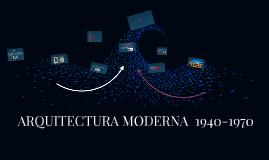 ARQUITECTURA MODERNA EN COLOMBIA 1950-1970