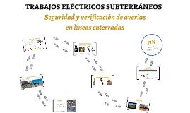 TRABAJOS   ELÉCTRICOS   SUBTERRANEOS