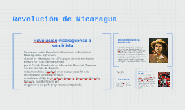 Copy of Revolucion de Nicaragua