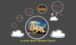 A study about Obando Church
