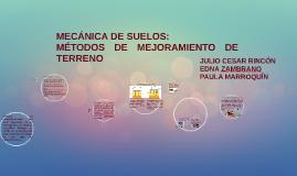 Copy of MECANICA DE SUELOS: