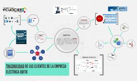 TRAZABILIDAD DE LOS CLIENTES DE LA EMPRESA ELÉCTRICA QUITO