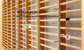 Welkom bij de ALO
