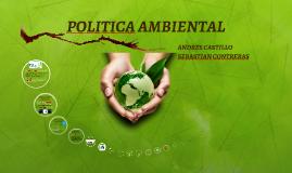 POLITICA AMBIENTAL COLOMBIA ANDRES CASTILLO