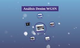 Análisis Denim WGSN