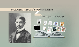 the short writing career of stephen crane Stephen crane was the 14th child of parents who were both writers descended from a line of soldiers and clergymen his short, phenomenal literary career.