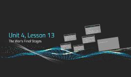 Unit 4, Lesson 13
