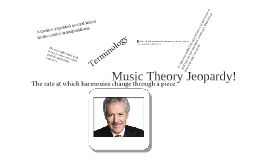 Music Theory Jeopardy!