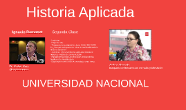 Historia Aplicada