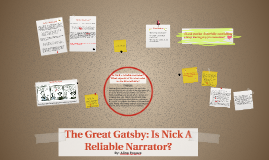 Copy of The Great Gatsby: Is Nick A Reliable Narrator?