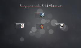 Stageperiode Britt Vlasman